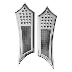 For Indian Chief 18 Driverand039s Floorboard Kit Knurled Drilled Instigator Style