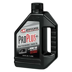 Pro Plus+ Sae 20w-50 Synthetic 4t Motorcycle Engine Oil 5 Gallons