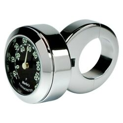Marlinand039s 152202 Classic Adjustable Ring Style Handlebar Mount Thermometer