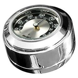 For Harley-davidson Road King 94-19 Marlinand039s Swivel Fork Lock Cover Thermometer