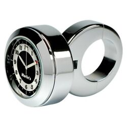 Marlinand039s 152107 Classic Adjustable Ring Style Handlebar Mount Clock