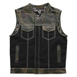 First Manufacturing Fim666camo-xl-cmf Custom Vest X-large Camouflage