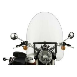 For Honda Fury 10-16 Classic Series Hardware Oversized Clear Windshield