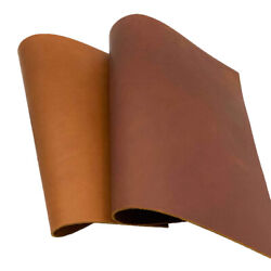 5-6oz Natural Veg Tan Cowhide Tooling Leather Pre-cut Project Piece Arts Crafts