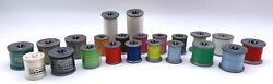 Vintage Lot Of 22 Molnlycke Polyester Sewing Thread