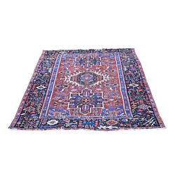 4and0398x6and039 Antique Farsian Karjihooz Even Wear Clean Wool Hand Knotted Rug R66388
