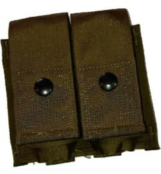 Usmc Molle Double 40mm He High Explosive Grenade Pouch Coyote Lot Of 20