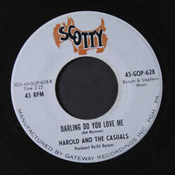 Harold And Casuals Darling Do You Love Me / You Can Shake A Queue Plume Scotty