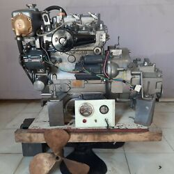 Yanmar 3qma Inboard Marine Diesel Engine From Lifeboat Used Good - Ship By Sea