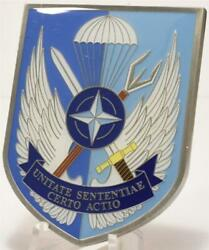 Unitate Sententiae Nato Special Operation Forces Sof Headquarters Challenge Coin