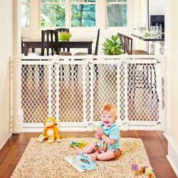 Extra Wide Sliding Baby Pet Gate Swing Door Multiple Sizes 22 To 62 Wide 31 Tall