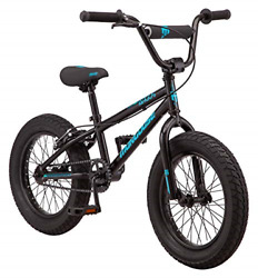 Mongoose Argus Mx Kids Fat Tire Mountain Bike 16-inch Wheels Single Speed