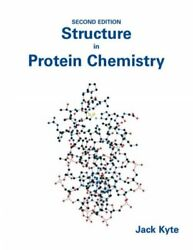 Structure In Protein Chemistry Hardcover By Kyte Jack Like New Used Free ...