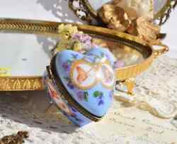 Vintage Decor Collectibles Trinket Small Boxes Porcelain Art Jewellery Germany