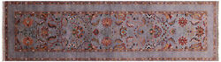 Runner Handmade Traditional Wool Rug 2and039 9 X 9and039 9 - Q8405