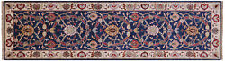 2and039 9 X 9and039 11 Traditional Handmade Wool Runner Rug - Q8376