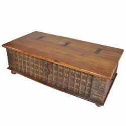 Made To Order Indian Brasswork Antique Blanket Box Trunk Coffee Table Chest Larg