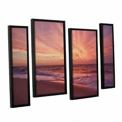 Artwall And039dan Wilsonand039s Outer Banks Sunset Iiiand039 4-piece Extra Large