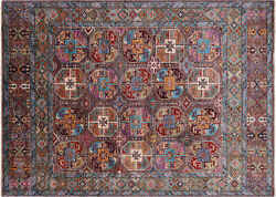 Fine Turkmen Hand Knotted Rug 5and039 8 X 7and039 10 - Q7440