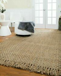 Natural Area Rugs Chatsworth Hand Woven Jute Area Throw Rug Carpet