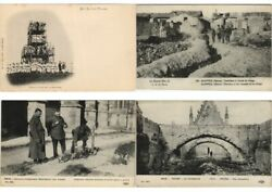Military Soldiers Ruins 2000 Vintage Postcards Mostly Wwi Pre-1940 L3335