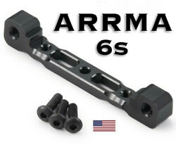 Arrma 6s Aluminum Upper Front Suspension Arm Mount 1/8 Scale Ships Today