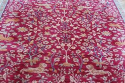 Authentic American Karastan Emprorand039s Hunt Pattern 2200-204 Carpet 8and0398 X 10and039