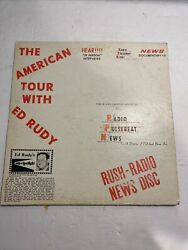 The Beatles American Tour Interview Collectible Ed Rudy Collectible Lp Lennon