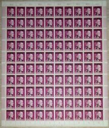 Mnh Sheets Of Ww2 Feldpost Military Mail Stamps 2 Of Only 4 Fp Types 125 Ea