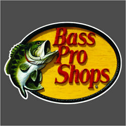 Bass Pro Shops Carpet Graphic Decal Sticker For Fishing Bass Boats 700-122