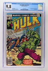 Incredible Hulk 212 - Marvel 1977 Cgc 9.8 1st Appearance Of The Constrictor Fr
