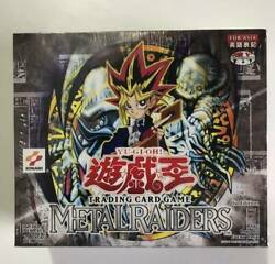 Yu-gi-oh Metal Raiders Booster Box 1st Edition Asia English Notation Sealed