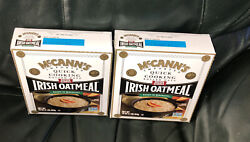 2 Boxes Mccann's® Imported Quick Cooking Rolled Oats Irish Oatmeal™ 16 Oz. Box