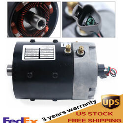 For Club Car 2000-up 48 Volt 3.5 Hp Golf Cart High Speed Electric Motor Iq Plus