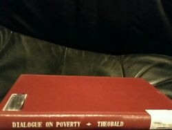 Dialogue On Poverty Theonald 1967 Marks Stamps Writing Through Out Book Out In