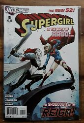 Supergirl 5 2011 New 52 1st Appearance Of Reign