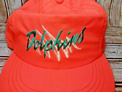 Vintage Flordia Miami Dolphins Hat Cap Nfl Football New With Tag. U2