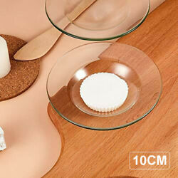 10cm Replacement Glass Oil Burner Wax Melt Dish Spare Bowl Fit For Aromatherapy