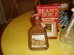 Jim Beam Collectible Whiskey Decanters Bottles Lot Of 3