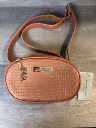 Marc New York Andrew Marc Women's Brown Leather Shoulder Bag Fanny Waist Pack $40.00