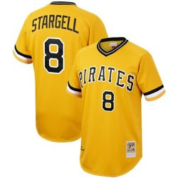 Pittsburgh Pirates Willie Stargell 8 Mitchell And Ness Gold 1979 Authentic Jersey