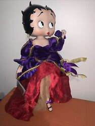 Danbury Mint Extremely Rare Betty Boop Porcelain Doll