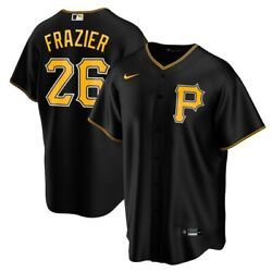 Pittsburgh Pirates Adam Frazier 26 Nike Men's Official Mlb Player Jersey