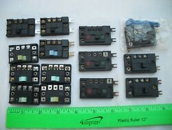 Lot Of 14 Assorted Remote Switch Control Box Controllers, Atlas 56, N Ho Scale