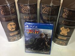Jak And Daxter Collectors Edition Lrg Limited Run Ps4 1-3 X Jax Iv -never Open