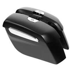 Abs Plastic Matte Black Saddlebags Fit For Indian Chieftain Dark Horse 2019-2020