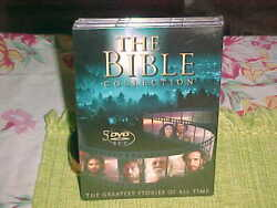 The Bible Collection The Greatest Stories Of All Time Brand New 5 Dvd Set Sealed