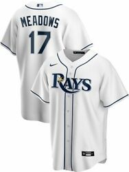 Tampa Bay Rays Austin Meadows 17 Nike Men's Official Mlb Player Jersey