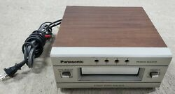 Panasonic 8 Track Player Stereo Deck Rs-853 Wood Grain Style- Untested For Parts
