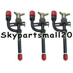New Fuel Injector 17391-53000 For Kubota Tractor Compact Us 3 Pcs